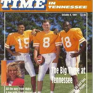 Vol. 4 - 1991  Rec. 9-3  SEC 5-2  (3rd in SEC)   Fiesta Bowl