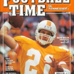 Vol. 5 - 1992 (NOT AVAILABLE)  Rec. 9-3  SEC 5-3  (3rd in East)   Hall of Fame Bowl - 12th AP