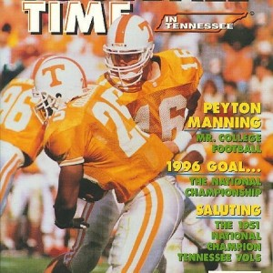 Vol. 9 - 1996  Rec. 10-2  SEC 7-1  (2nd in East)   Citrus Bowl - 9th AP
