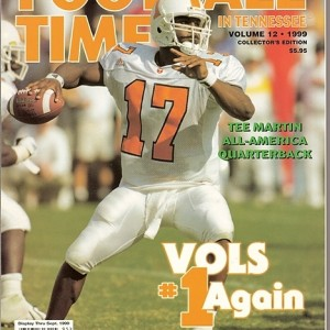 Vol. 12 - 1999  Rec. 9-3  SEC 6-2  (2nd in East)  Fiesta Bowl - 9th AP