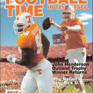 Vol. 14 - 2001 Rec. 11-2 SEC 7-1 (1st in East) Citrus Bowl 4th AP