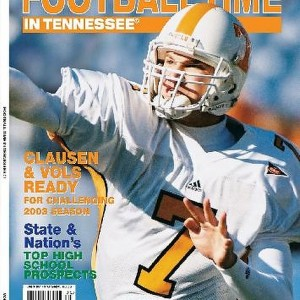 Vol. 16 - 2003 Rec. 10-3 SEC 6-2 (Tied 1st in East) Peach Bowl
