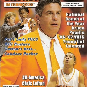 2006-2007 COLLECTORS EDITION (Lady Vols 34-3 Record (SEC Champions 14-0, and NCAA Champions). (Men Vols 24-11 Record, SEC 10-6 Tied for 2nd -East, NCAA Sweet Sixteen Appearance).