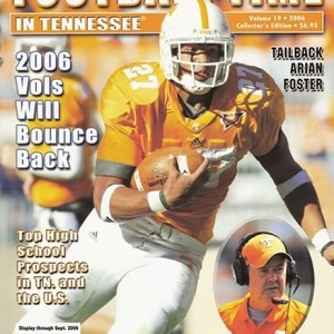 Vol. 19 - 2006 Rec. 9-4 SEC 5-3 (2nd in East) Outback Bowl - 25th AP