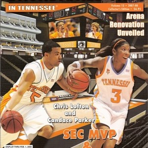 2007-2008 COLLECTORS EDITION Lady Vols 31-5 Record, SEC Champions 14-2 and NCAA Champions. (Men Vols 31-5 Record, SEC 14-2 1st in SEC East and SEC, NCAA Sweet Sixteen Appearance).
