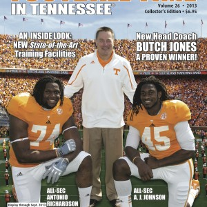Vol. 26 2013 Rec. 5-7 SEC 2-6 (6th in SEC East)