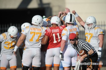 """Vol Spring Practice: Notes and video from """"competition Thursday"""""""