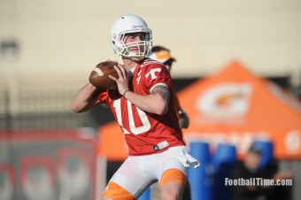 VIDEO: Vol QB Riley Ferguson meets with the media