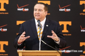 "Tennessee a ""destination job"" for Donnie Tyndall"