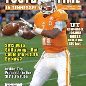 Vol. 28 2015 Rec. 9-4 SEC 5-3 (2nd in SEC East)